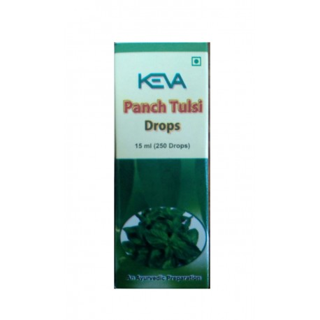 Panch Tulsi 15 ml , 250 gotas-KEVA