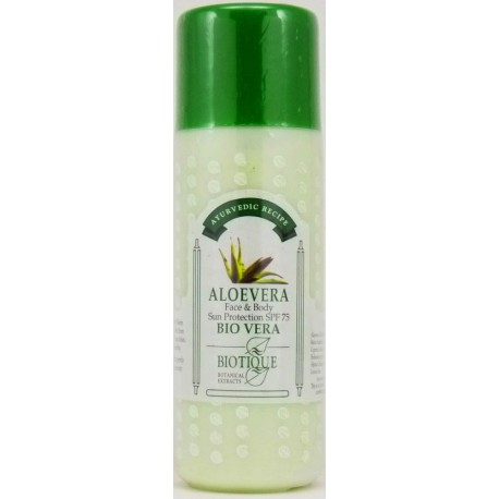Protective body lotion spf-75
