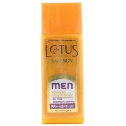 Sun block cream for men