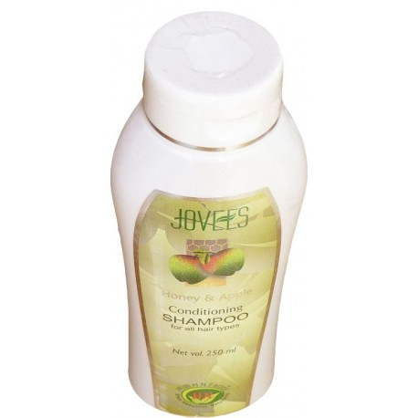 Honey and apple hair conditionner shampoo